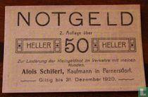 Pernersdorf 50 Heller 1920