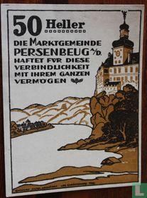 Persenbeug 50 Heller 1920