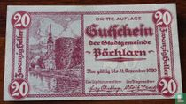 Pöchlarn 20 Heller 1920