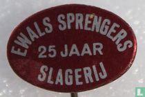 Ewals Sprengers 25 jaar slagerij
