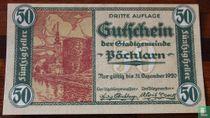 Pöchlarn 50 Heller 1920