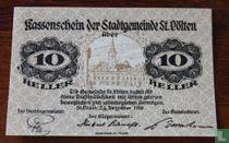 Sankt Pölten 10 Heller 1920