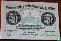 Sankt Pölten 20 Heller 1920