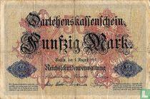 Germany 50 Mark (P49a)