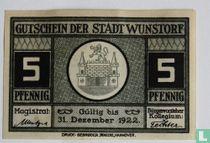 Wunstorf 5 Pfennig 1922