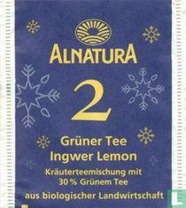 2 Grüner Tee Ingwer Lemon