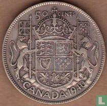 Canada 50 cents 1940