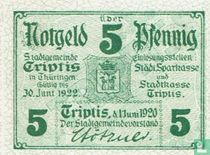 Triptis 5 Pfennig 1920 (light)