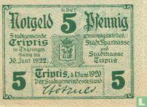 Triptis 5 Pfennig 1920 (dark)