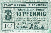 Massow 10 Pfennig 1920