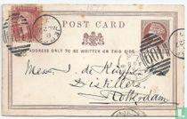Queen Victoria Postkarte