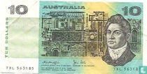 Australië 10 Dollars ND (1979)