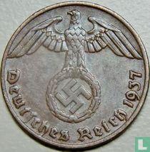 Duitse Rijk 1 reichspfennig 1937 (A)