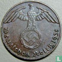 Duitse Rijk 1 reichspfennig 1938 (E)