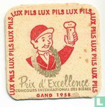 Lux Pils - Prix d'Excellence Gand 1958