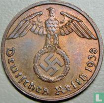 Duitse Rijk 1 reichspfennig 1938 (A)