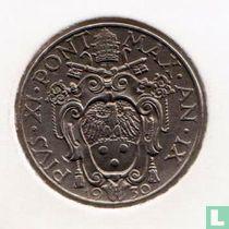 Vaticaan 50 centesimi 1930