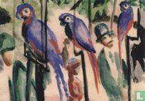 Bei den Papageien, 1914