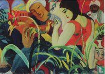 Orientalische Frauen (Odalisken), 1912