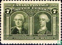 Louis-Joseph de Montcalm en James Wolfe