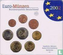 Duitsland jaarset 2002 (G)