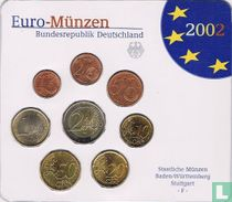 Duitsland jaarset 2002 (F)