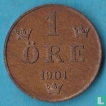 Zweden 1 öre 1901
