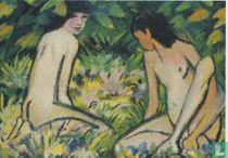 Mädchen im Freien, 1922