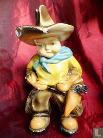 Cowboy (fair statuette)