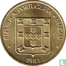 Macau 20 avos 1983