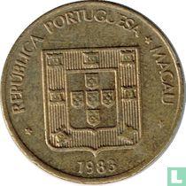 Macau 50 avos 1983