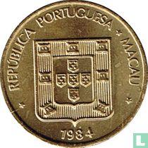 Macau 20 avos 1984