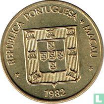 Macau 50 avos 1982