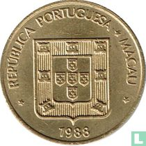 Macau 10 avos 1988