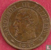 Frankrijk 1 centime 1853 (W)