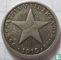 Cuba 10 centavos 1915