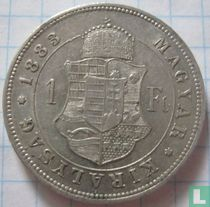 Hongarije 1 forint 1883