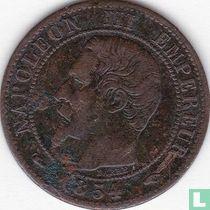 Frankrijk 1 centime 1854 (A)