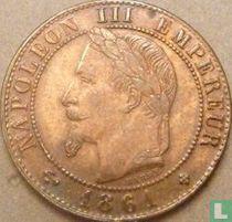 Frankrijk 1 centime 1861 (BB)