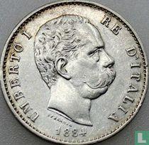 Italië 1 lira 1884
