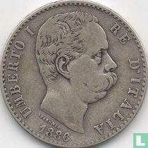 Italië 2 lire 1886