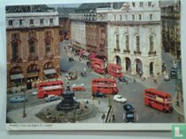 Piccadilly Circus and Regent St.