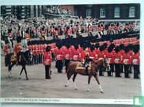 H.M.Queen Elizabeth II at the Trooping the Colour.