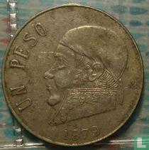Mexico 1 peso 1979 (dun jaartal)