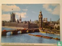 Houses of Parliament and Westminster Bridge.