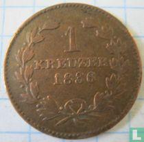 Baden 1 kreuzer 1836