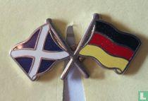 Vlaggen Schotland-Duitsland