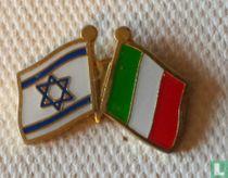 Vlaggen Israel-Italië