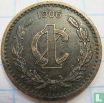 Mexico 1 centavo 1906 (smal jaartal)