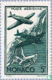 Aeroplane over Monaco